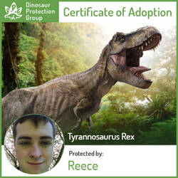 Adopted a T-Rex by NestieBot
