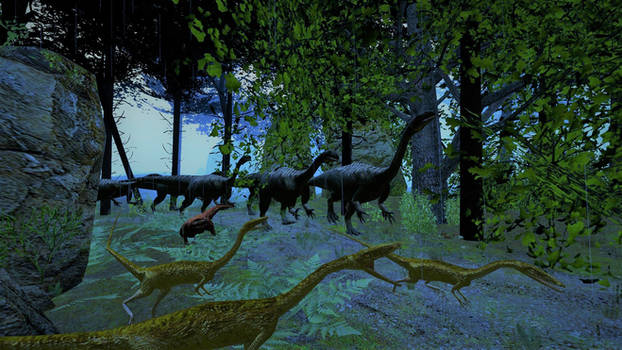 Dinocember Day 1-2: Triassic Forests