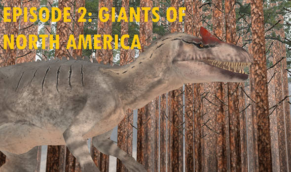 Giants of North America Title Card