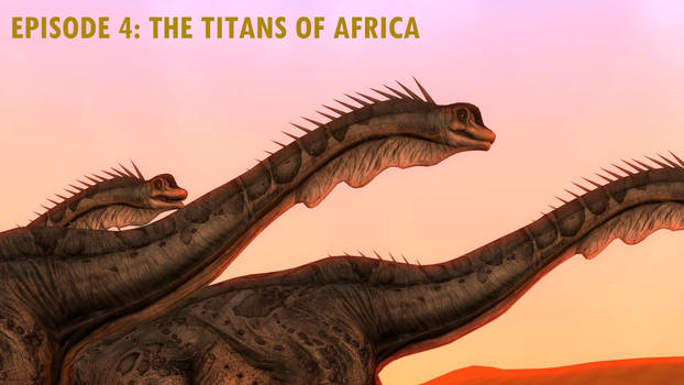 The Titans of Africa Title Card