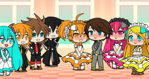 Me and my Fanloid Girls are Married!