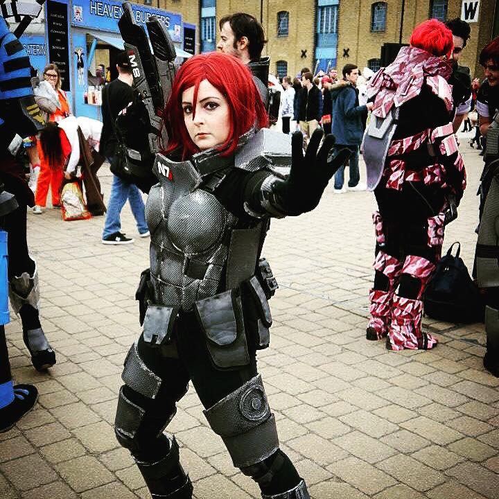 Female Commander Shepard By Eduki Cosplay By Ddraig Keltian