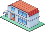 Red's House - Isometric by stuck-in-suburbia