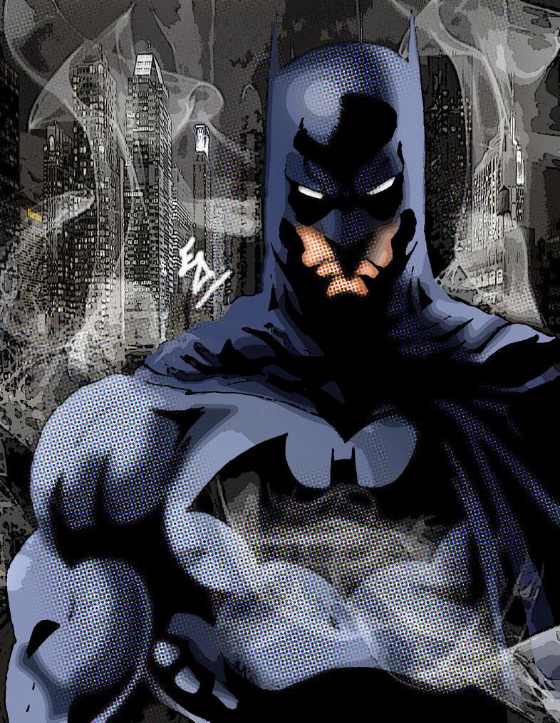 Batman Sketch by edwinj22