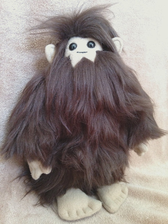Bigfoot Plush by furrychaos