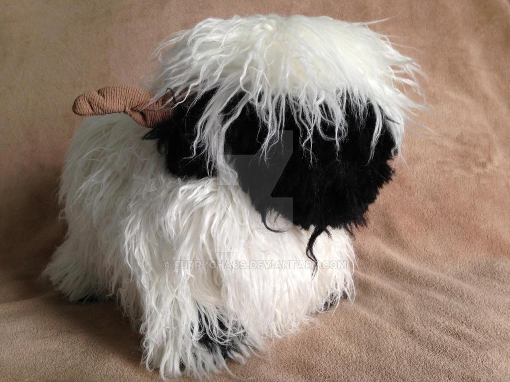 Valais Blacknose Sheep Custom Plush by furrychaos