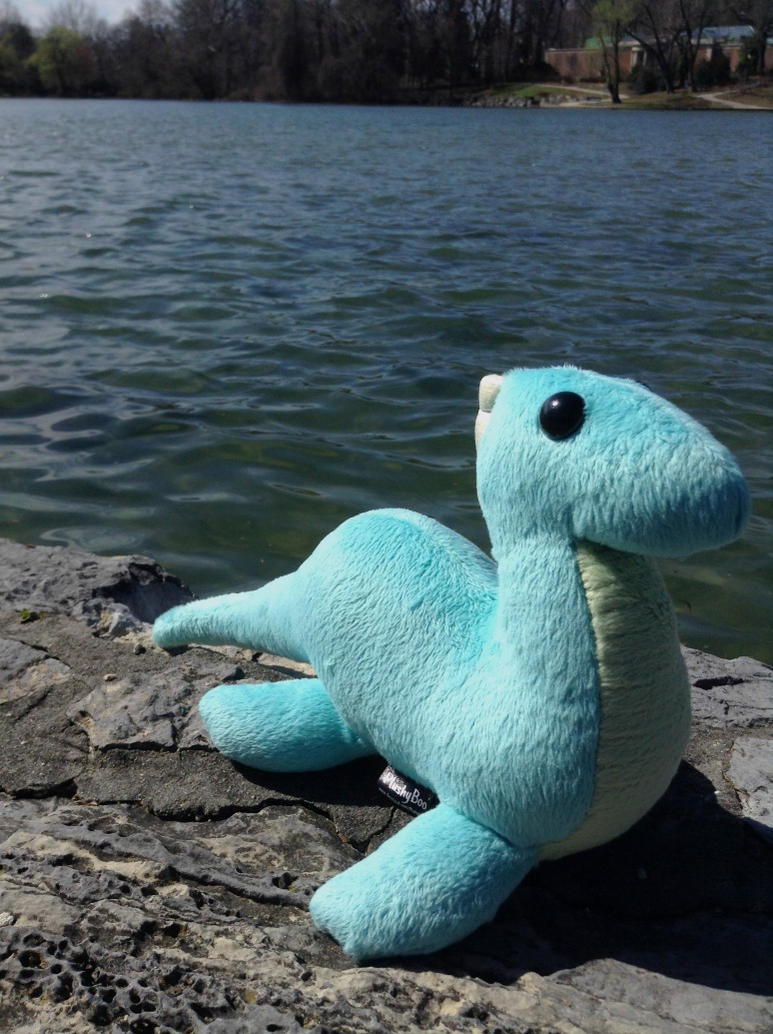 Loch Ness Monster Plush by furrychaos