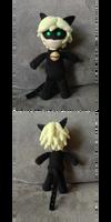 Chat Noir Doll - Pattern/Tutorial