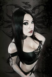 Leather Laced by VampBeauty