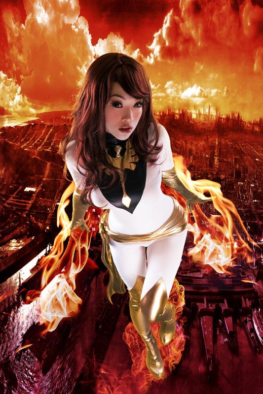 Vampy White Phoenix by VampBeauty