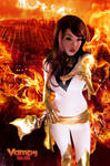 Flamin Hand White Phoenix