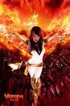 Flames UP White Phoenix