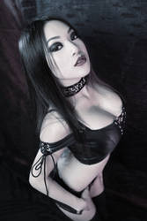 Leather Laced UP by VampBeauty