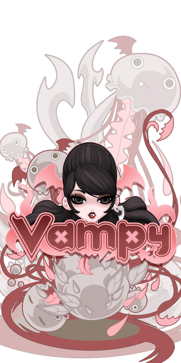 Vampy Love JellyFish by VampBeauty