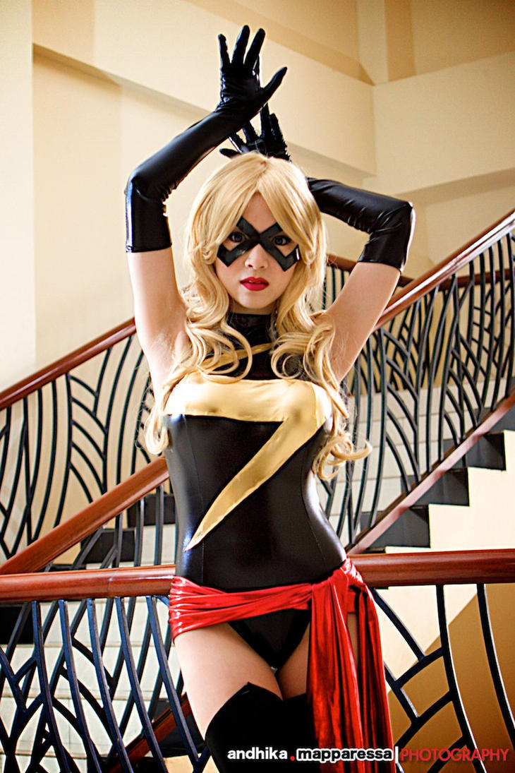 Ms Marvel Cosplay by VampBeauty