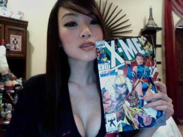 Jim Lee made the best Psylocke by VampBeauty