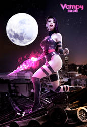 Psylocke Jim Lee Tribute by VampBeauty