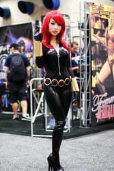 Bishoujo Black Widow Cosplay by VampBeauty