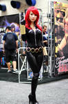 Bishoujo Black Widow Cosplay