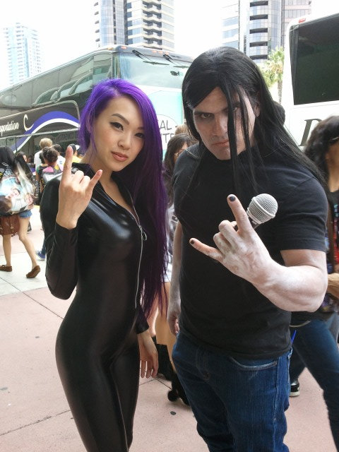 Nathan Explosion Metal HANDS by VampBeauty