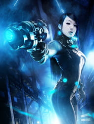 Gantz Gunz BOSSLOGIC Style by VampBeauty