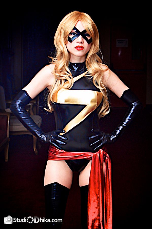 Ms Marvel Cosplay Stance