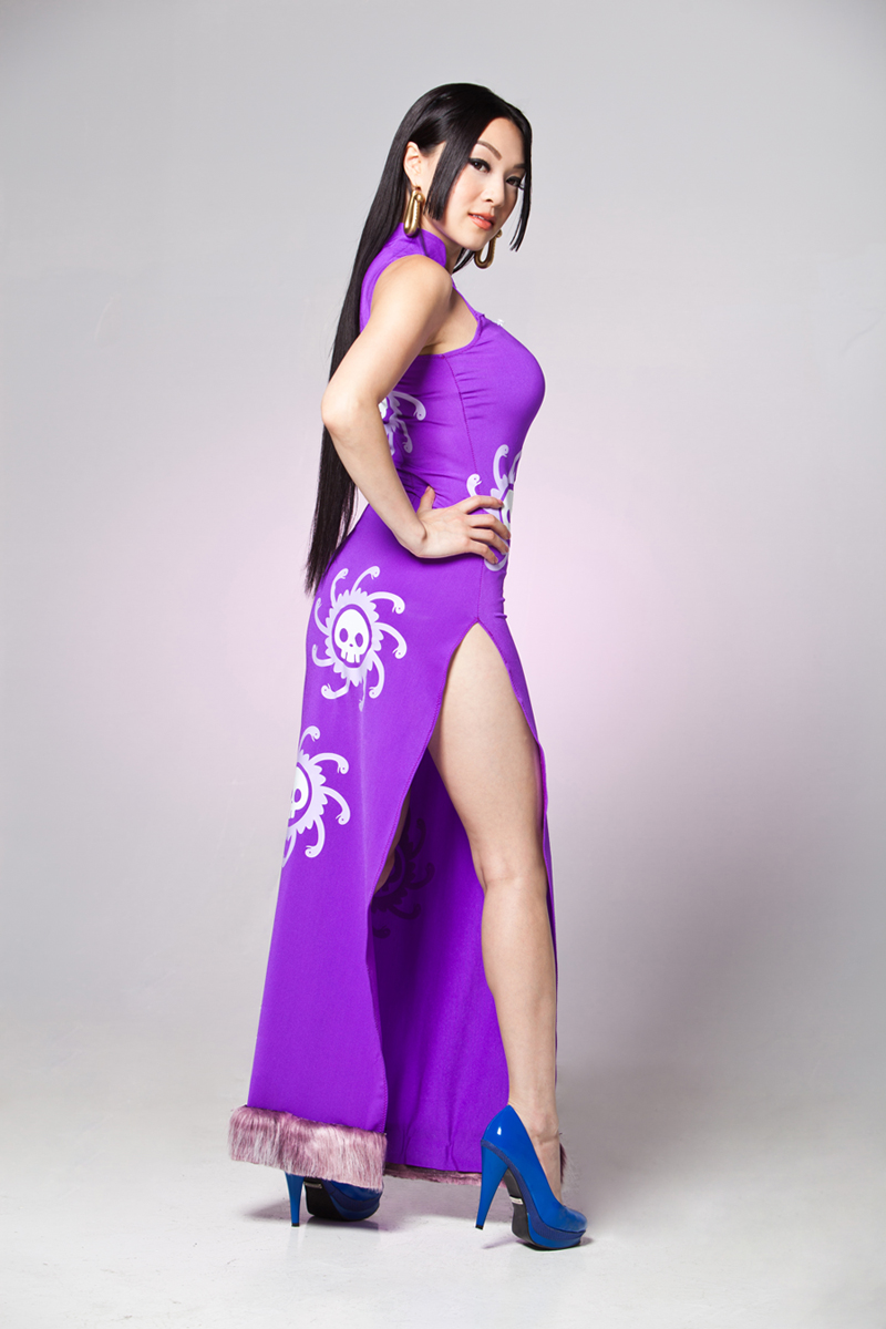 Boa Hancock One Piece Cosplay by VampBeauty