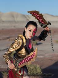 Lady Kratos  God Of War