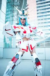 MS Unicorn Gundam Girl