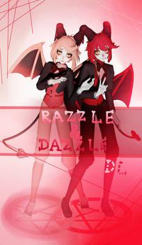 MMD DL HAZBIN HOTEL...Razzle and Dazzle...