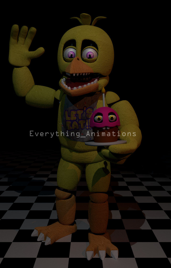 Fnaf 2 chica by everythinganimations on deviantart