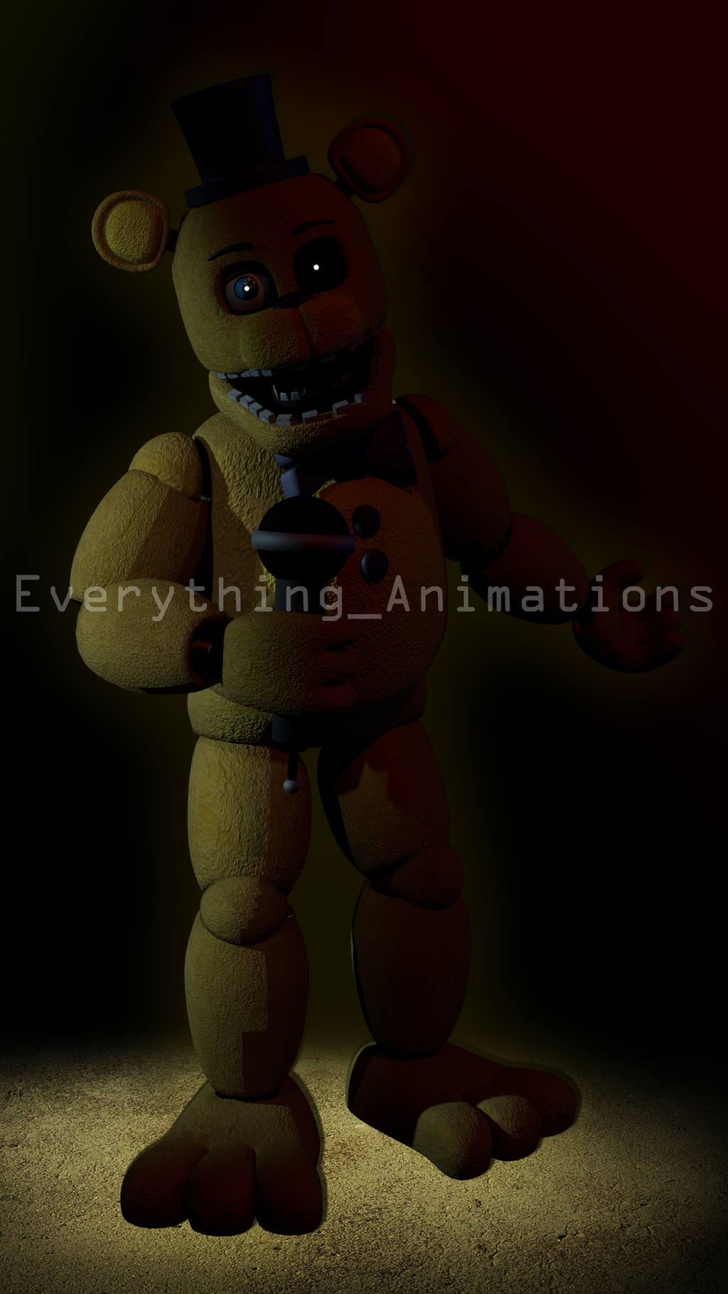 Fnaf 2 Golden Freddy Wallpaper