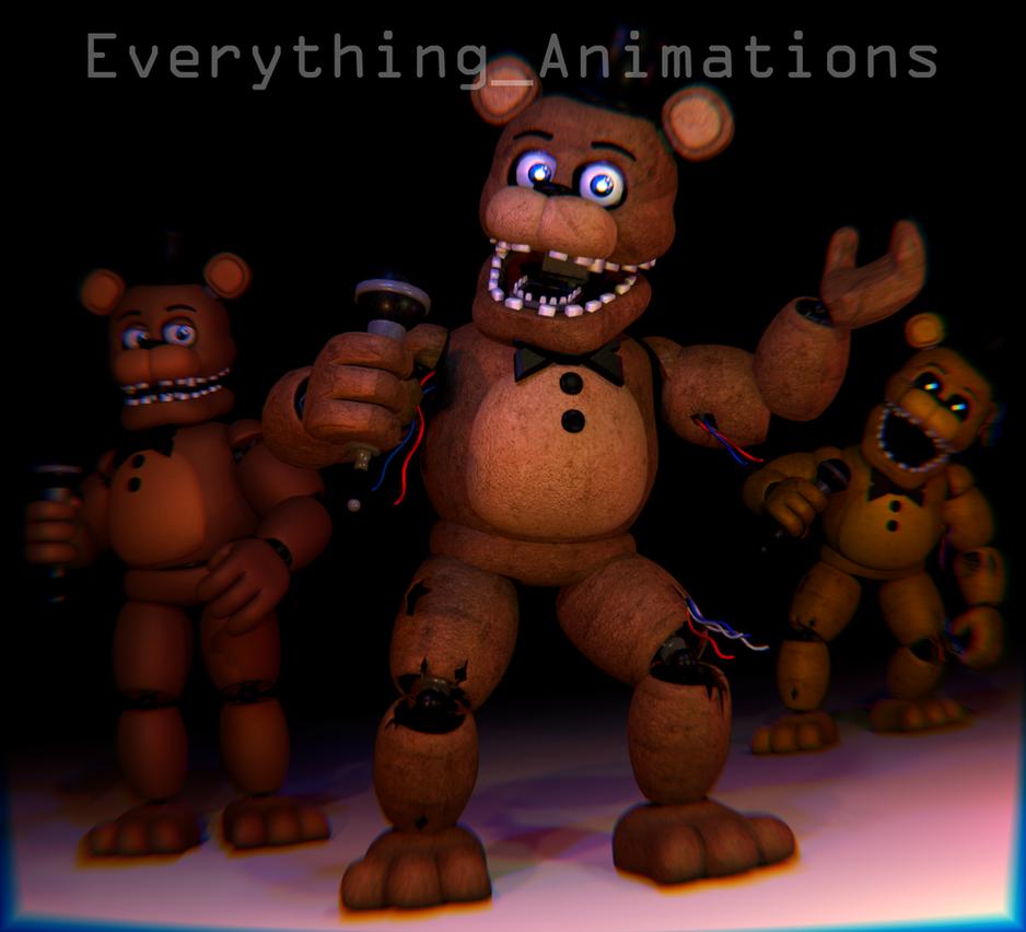 Old Freddy Toys : Fnaf freddy by everythinganimations on deviantart
