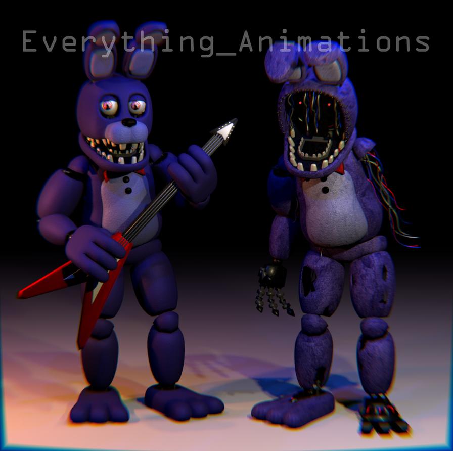 FNAF 2 Bonnie By EverythingAnimations On DeviantArt