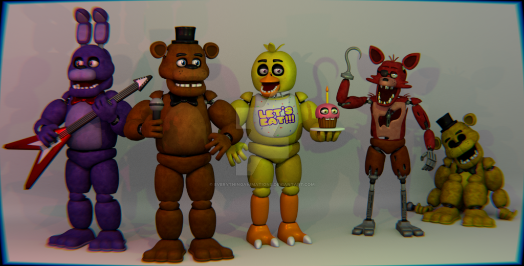 About The FNAF 1 Models (Read The Description) By