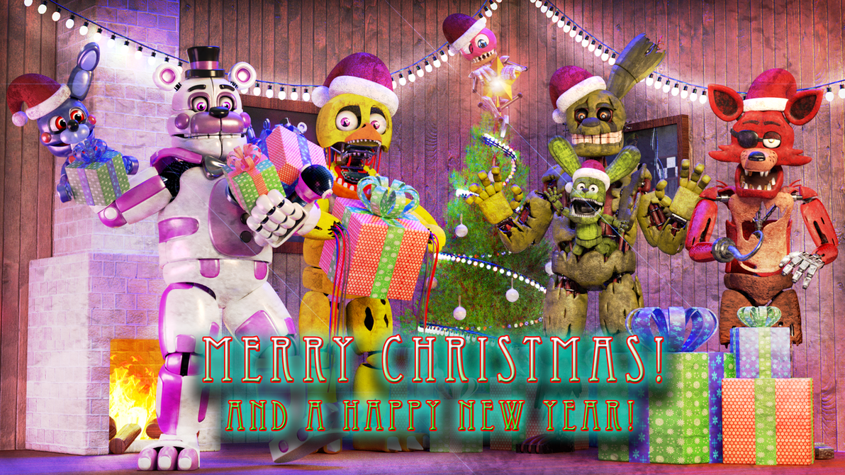 Merry Christmas 2016! by EverythingAnimations