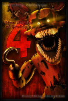 Nootmare Foxy Poster