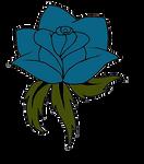 Rose Tattoo - Flat Colour