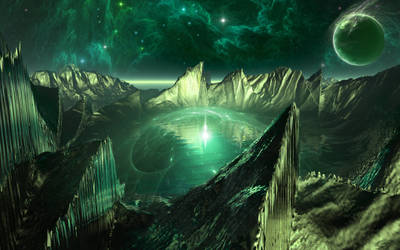 Green Planet by ivanraposo