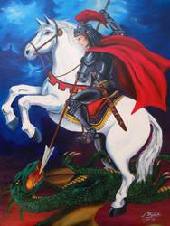 Saint George by ivanraposo