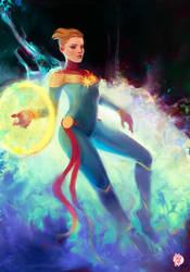 Miss Marvel by anjosdg