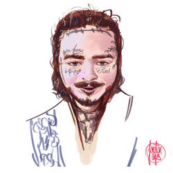 Post Malone by anjosdg