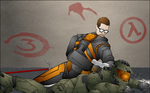 Half Life Pwns Halo Wallpaper