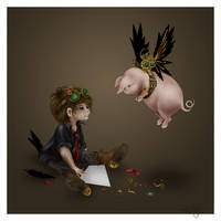 When Pigs Fly by Ciuin