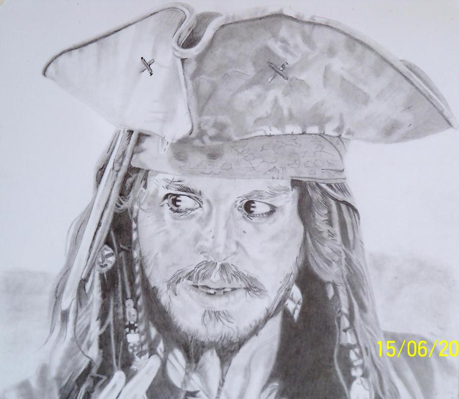 J Depp - Jack Sprrow by norty677