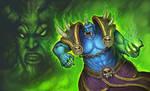 Ogre-warlock