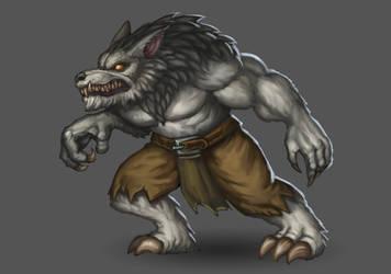 werewolf by Tiodor
