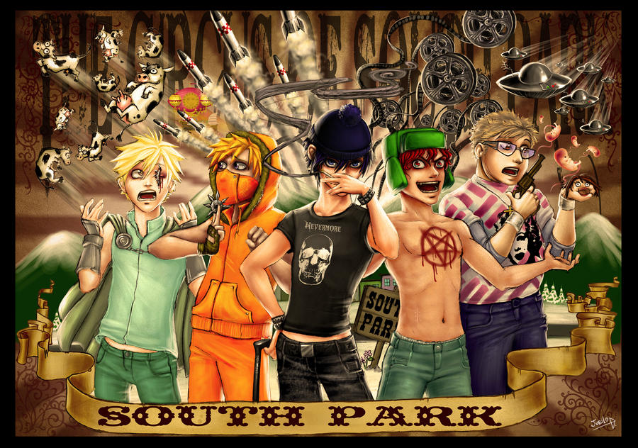 The circus of South Park by Rivan145th