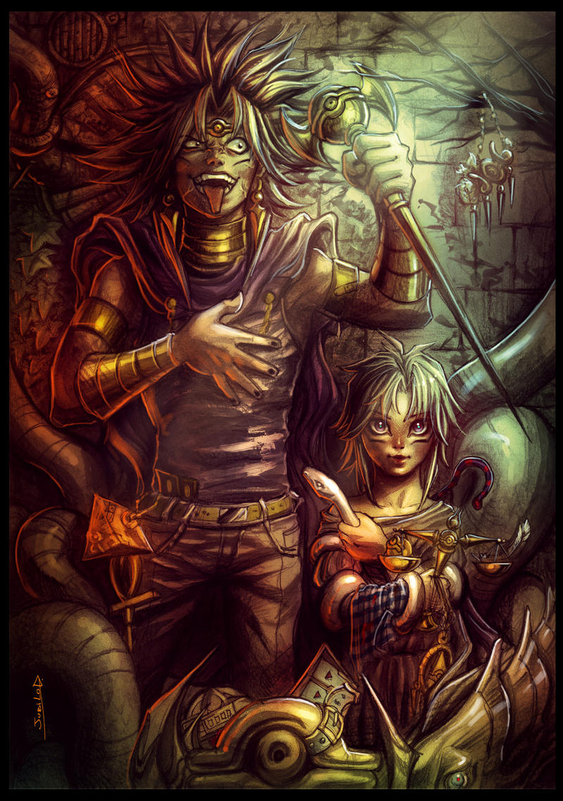 Marik and Marik by Rivan145th