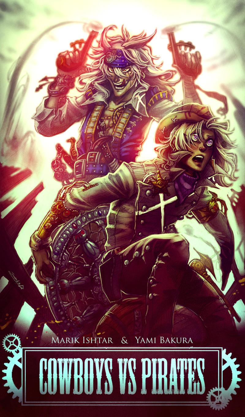 YGOTAS - Cowboys Vs Pirates by Rivan145th